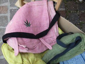Taschen aus Hanf