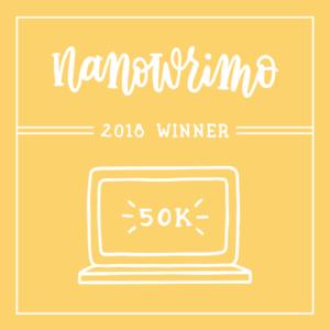 NaNoWriMo-Sieger 2018