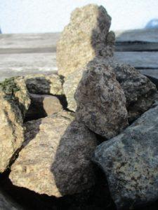 Weltenbau - Über Steine