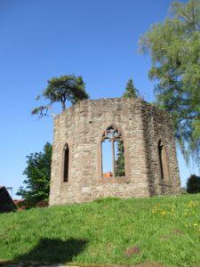Klangwanderweg Hammelbach - Kirchenruine