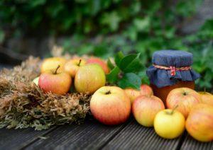 Apfeleis zum Muttertag
